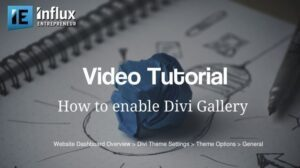 How To Enable Divi Gallery